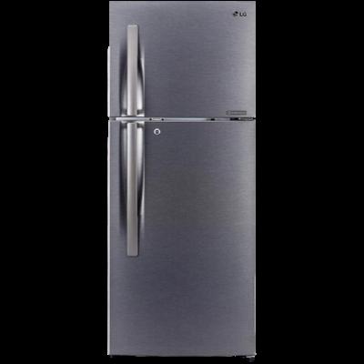 LG 260 L 2 star Single Door Refrigerator (GL-N292RDSY, Dazzle Steel)