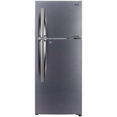 LG 260 L Frost Free Double Door 2 Star Convertible Refrigerator with Convertible Refrigerator (Dazzle Steel, GL-S292RDSY)