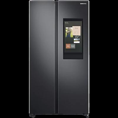 Samsung 673L Curd Maestro Family Hub Side By Side Refrigerator RS72A5FC1B4