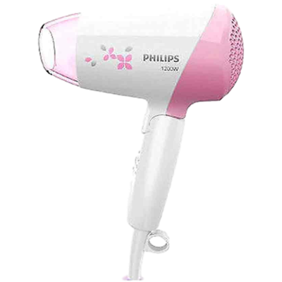 Philips HP8120 Hair Dryer (White and Pink)