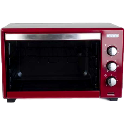 Usha 42L (OTGW 3642RCSS) Oven Toaster Grill (Stainless Steel & Wine)