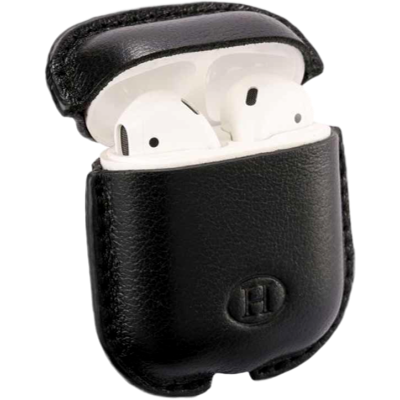 HAANS Leather Airpod Full Case Black 2500013