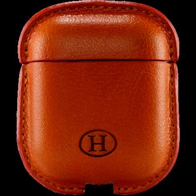 HAANS Leather Airpod Full Case Orange 2500014