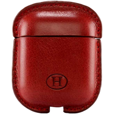 HAANS Leather Airpod Full Case Red 2500017