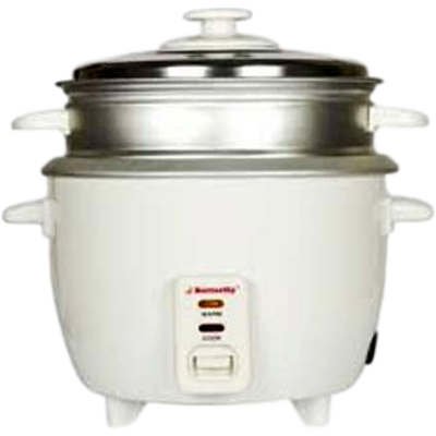 Butterfly KRC-07 Electric Rice Cooker (1 L, White)