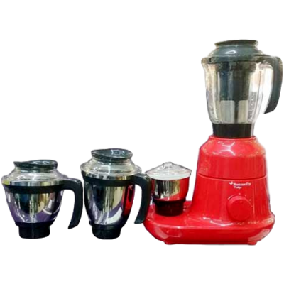 Picture of Butterfly Tulip 4 Jar 750 W Mixer Grinder (Red and Black, 4 Jars)