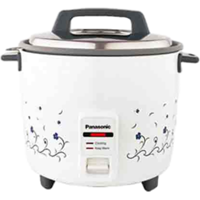 Panasonic SR-WA18H Rice Cooker (1.8 L, White)