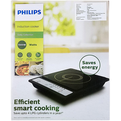 Philips HD4920 Induction Cooktop (Black, Push Button)