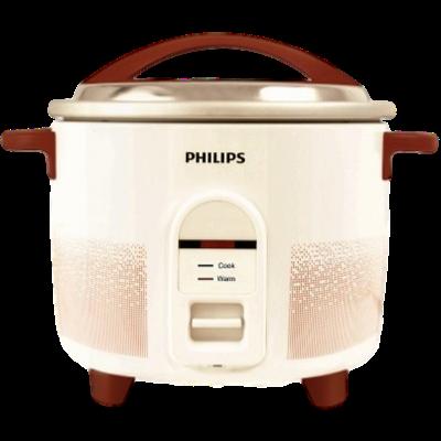 Philips HL1665/00 Rice Cooker (1.8 L, White)
