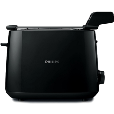 Philips HD2583/90 Pop-Up Toaster (Black)