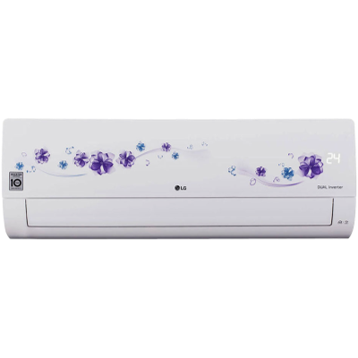 LG 1.5 Ton 5 Star Split Inverter AC (18FNZD, White)
