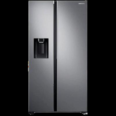 SAMSUNG 676 L Side by Side Digital Inverter Compressor (RS74R5101SL, Real Stainless)