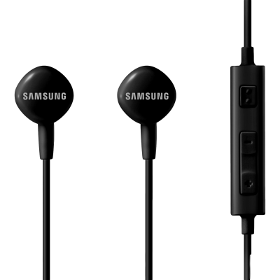 Picture of Samsung EO-HS130DBEGIN Wired Headset (Black, In the Ear)