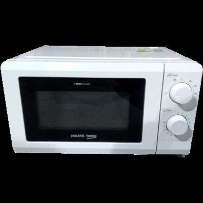 Voltas Beko 17 Litres Solo Microwave Oven (Pre-Heating Function, MS17WM, White)