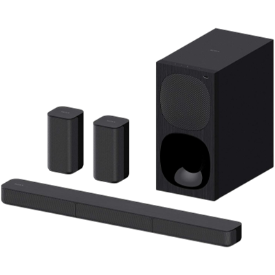 Sony HT-S20 5.1 Channel Dolby Digital Soundbar Home Theatre System with Bluetooth Connectivity - Black